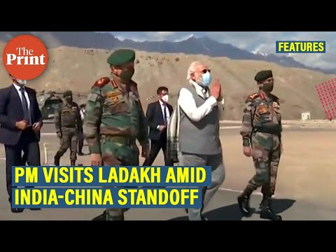 In First Ladakh Visit, PM Visits Soldiers Injured In Violent Galwan Brawl With Chinese Soldiers