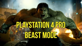 "PS4 Pro ""Boost Mode""? More Like PS4 Pro BEAST Mode! Firmware Update 4.50 is The Truth! 