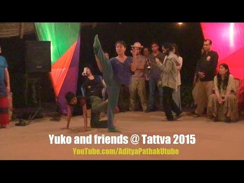 Yuko Harada and friends (Improvisation/Dance) at Tattva 2015 @ Zorba The Buddha