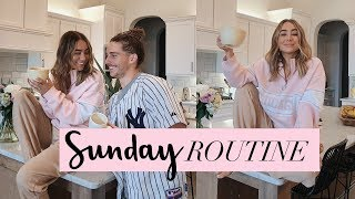 SUNDAY ROUTINE Productive & Healthy! | Julia Havens