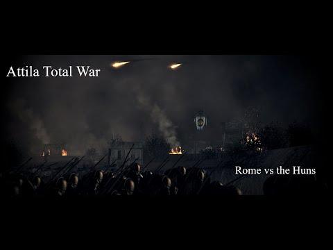 Attila Total War | Rome vs the Huns | Cinematic Battle (Not Historical) |