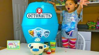 Octonauts Biggest Surprise Egg and Capt Barnacles PlayDoh Surprise Egg! Octonauts Toys