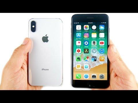 iPhone X vs iPhone 7 Plus