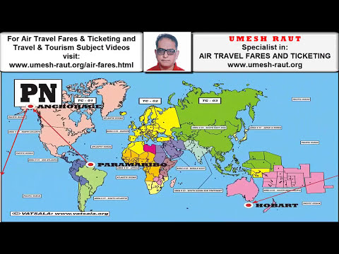 NORTH PACIFIC (PN) | IATA GLOBAL INDICATOR | AIR TRAVEL FARES AND TICKETING INSTITUTE | UMESH RAUT