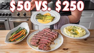 $50 Steakhouse Dinner Vs. $250 Steakhouse Dinner | But Cheaper