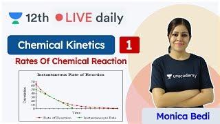 CBSE Class 12: Chemical Kinetics  L1 | NCERT | Chemistry | Unacademy Class 11 & 12 | Monica Ma'am