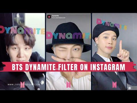 how-to-get-bts-dynamite-filter-on-instagram