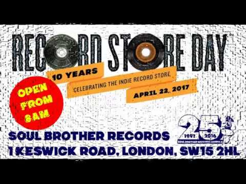 Record Store day 2017 at Soul Brother Records London