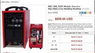 NBC 500 MIG inverter welding machines(NBC 500 MIG inverter welding machines. Learn the prices and details on http://www.borte.com.cn/weldingcutting.php?id=17 Import and wholesale from China ..., 2013-12-06T10:54:09.000Z)