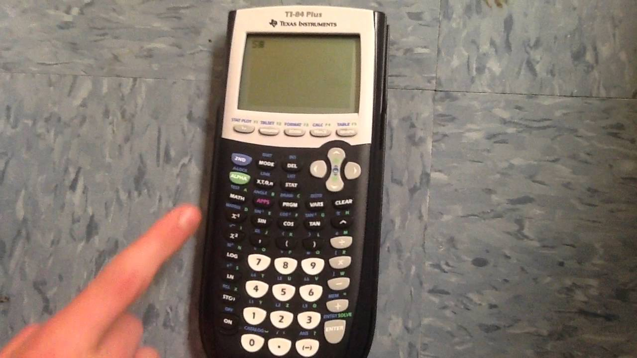 Writing On Your Calculator You