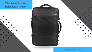 50 Ltrs Carry on Expandable Travel Backpack AC KRYPTON   Atmos Creek