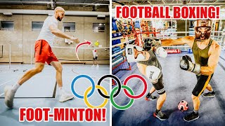 THE OLYMPICS - But EVERY Sport Uses A FOOTBALL! (P2)
