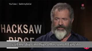 """Palabras del director de """"Hacksaw Ridge"""" Mel Gibson sobre el Ejército de Salvación"""