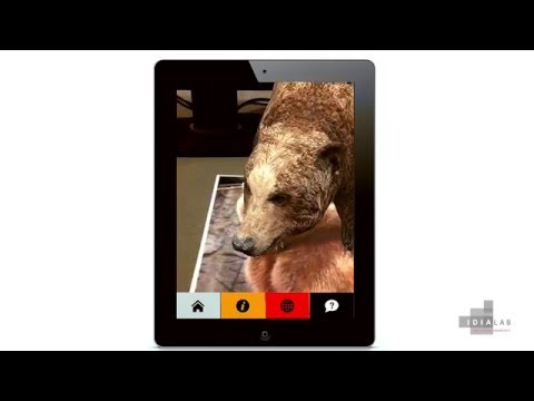 Augmented Reality iOS app to enhance visitor experiences for Natural History museums.