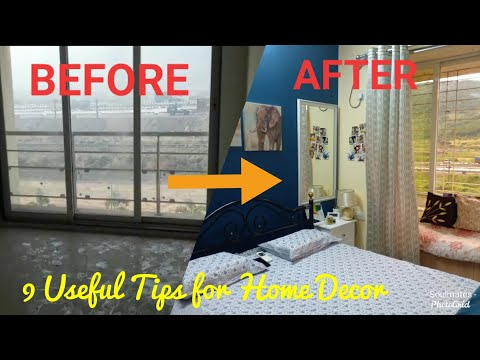 home-decor-|-small-bedroom-decor-tips-|-diy-crafts-|-before-&-after-|-budget-makeover