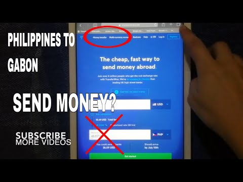 🔴 How To Transfer Money Overseas From Philippines to Gabon 🔴