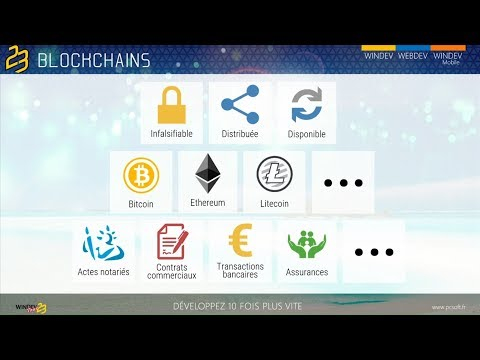 Utiliser des BlockChains dans vos applications WINDEV 23