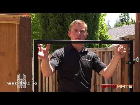 GATEMATE Gate Frame Installation Video
