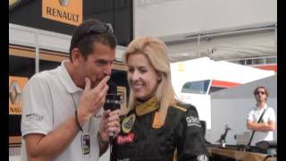 Entrevista Maria de Villota - Lotus Renault F1 team - Historias del Motor segun PRMotor TV
