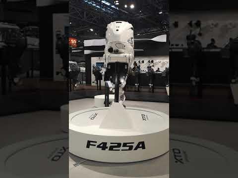 YAMAHA F425A Самый мощный серийный подвесной лодочный мотор