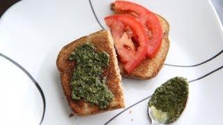 Vegan Pesto Sauce Recipe - Vegan Italian Sauce - Dairy Free