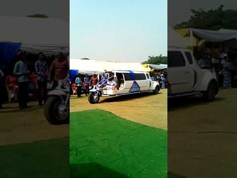 Apostle Kwadwo Safo designs Ghana and Africa's first Motorbike limousine