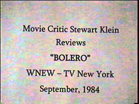 "Stewart Klein Reviews ""Bolero"", 1984"