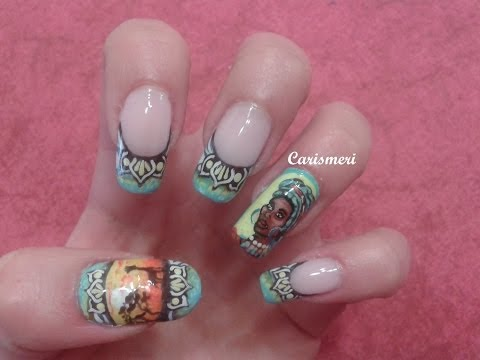 African Nails Tutorial
