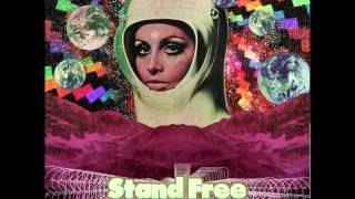 Stand Free - Black Burning Flowers