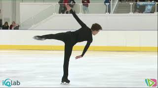 13 Dmitri ALIEV 11th edition LOMBARDIA TROPHY 2018 Memorial Anna Grandolfi 15 _09 Men Free Skating