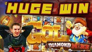 HUGE WIN on Diamond Mine Slot - £4 Bet