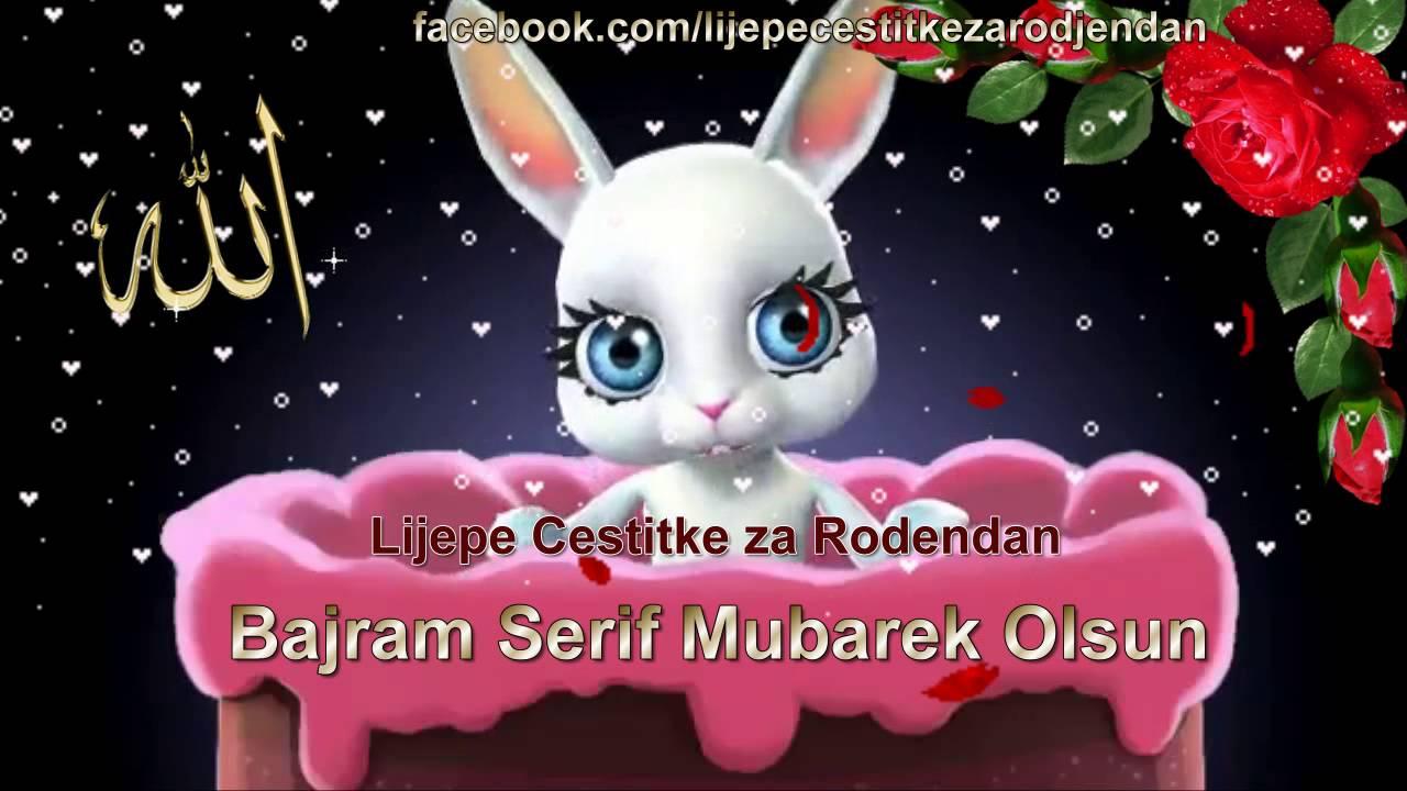 youtube čestitke Bajram Šerif Mubarek Olsun ~   YouTube youtube čestitke