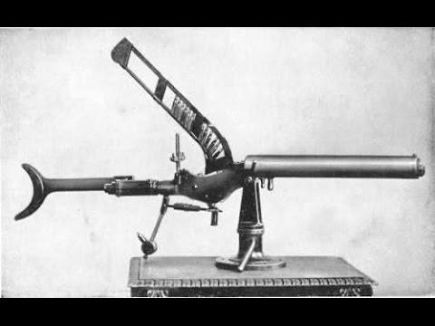 Early Machine Guns 1482 to 1901