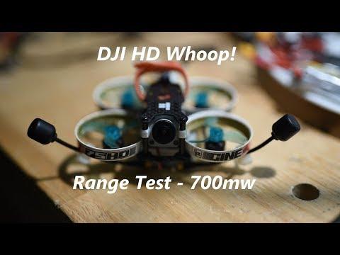 DJI HD On A Whoop - Range Test
