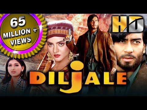 Diljale (hd) - Bollywood Blockbuster Hindi Film | Ajay Devgn, Sonali Bendre, Madhoo | दिलजले| Film & Animation