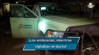 Grupo armado asesina a personal de seguridad de Pemex en Querétaro