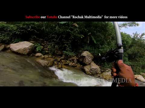 How To Catch Big Mahseer II Fishing In Nepal In A Small River