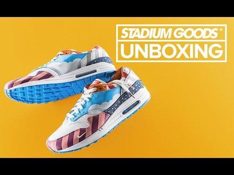 Friendsamp; 1 Goods Nike FamilyStadium Unboxing Max Air Parra nmN80w