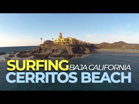 Surfing Cerritos Beach, Baja California Sur / Winter