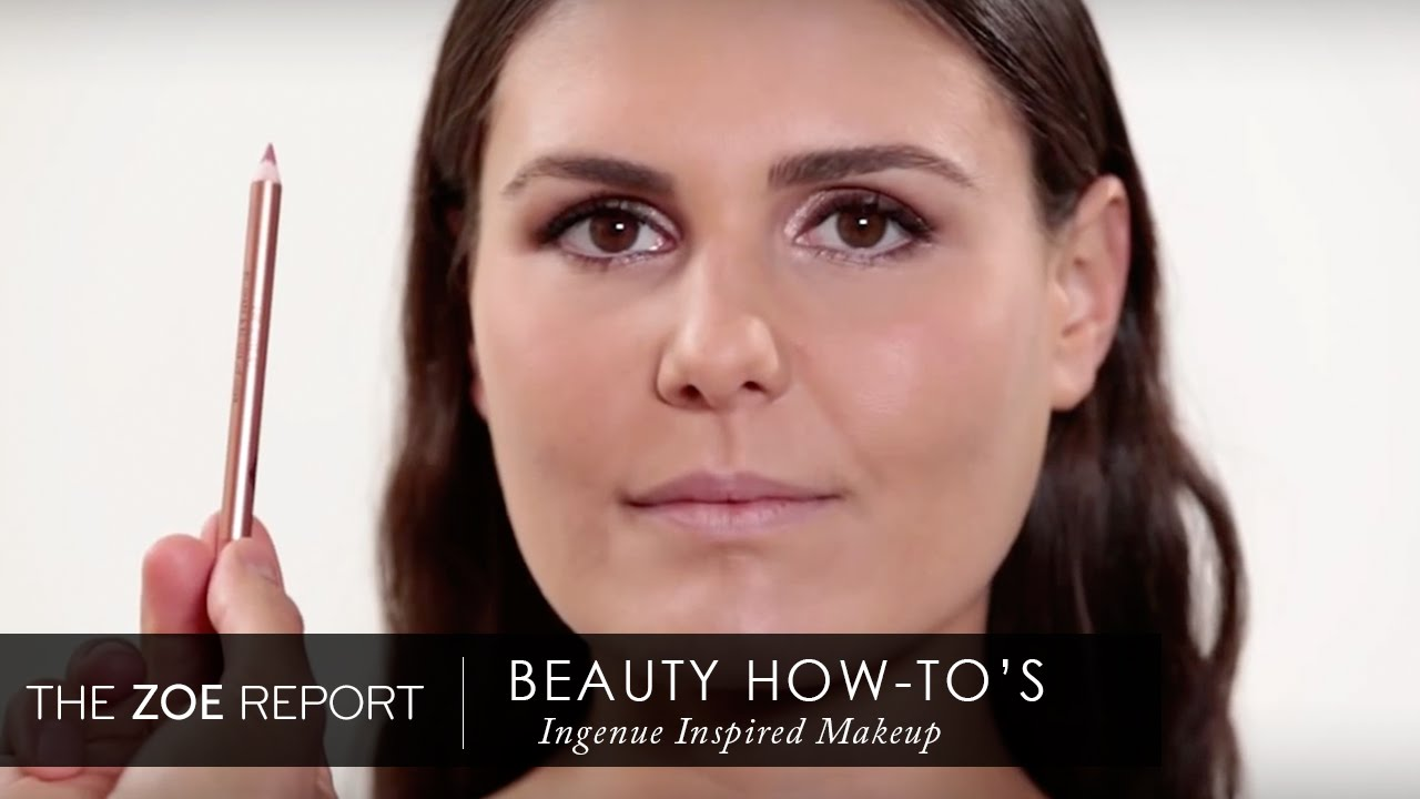 How To Get Charlotte Tilbury 39 S Bambi Eyed Makeup Look