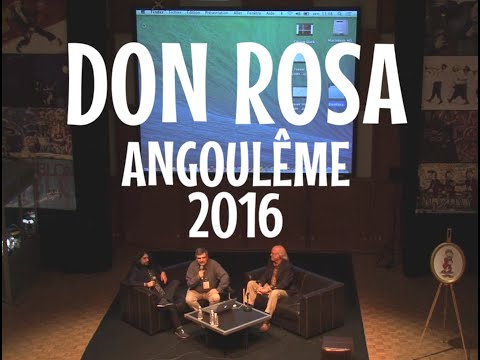 Don Rosa in Angoulême 2016 - International conference