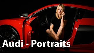 Video-Blog Autofotografie in München - Portrait Workshop