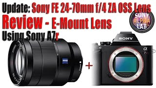 Update: Sony FE 24-70mm f/4 ZA OSS Lens Review