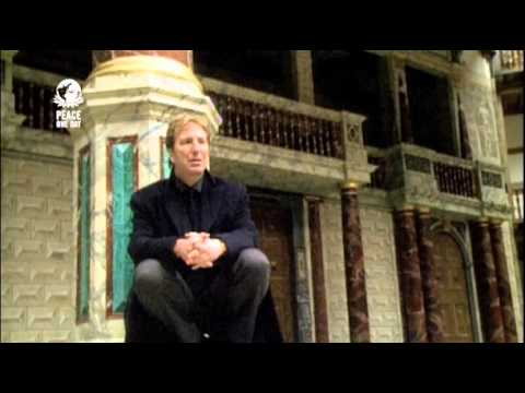 Alan Rickman recites Laurie Lee in support of Peace Day