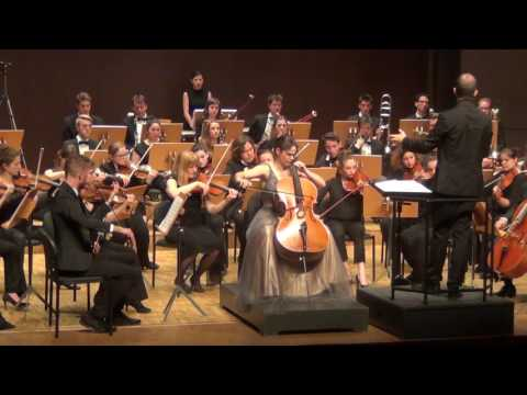 Teaser Elgar Cellokonzert - Estelle Revaz