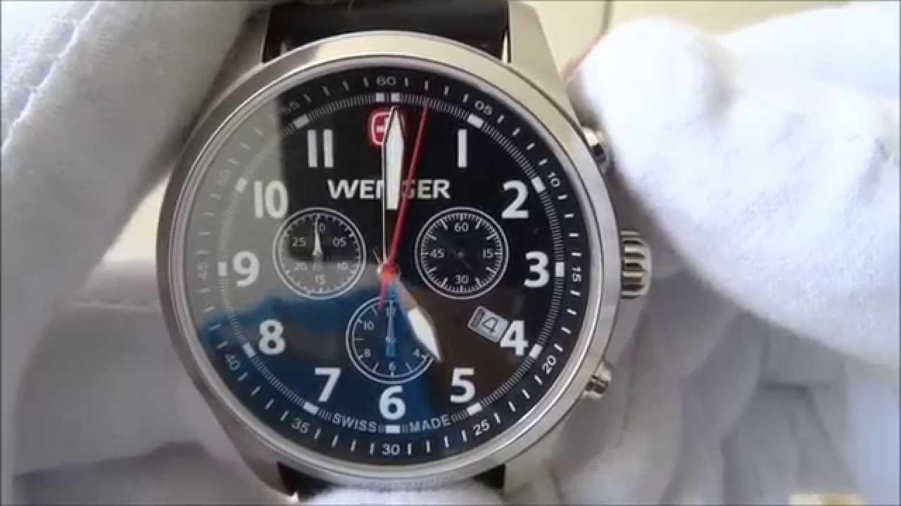 Wenger Terragraph Chrono 01.0543.101 - YouTube cd978cbb716