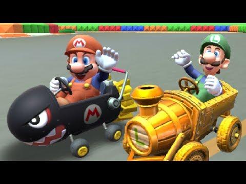 Mario Kart Tour - Mario Bros. Tour - All 18 Cups (200cc)