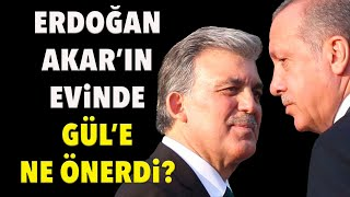 Hulusi Akarın evinde Abdullah Gül manevrası..  Tarık Toros  Manşet  24 Eylül 2021