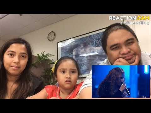 Family Reacts to Erika Zade and Sarah Grace Sing No Roots The Voice 2018 Battles