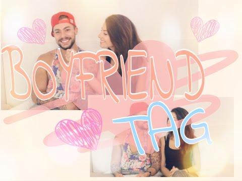 """Boyfriend tag : Qui a dit """"je t'aime"""" en premier? ♥"""